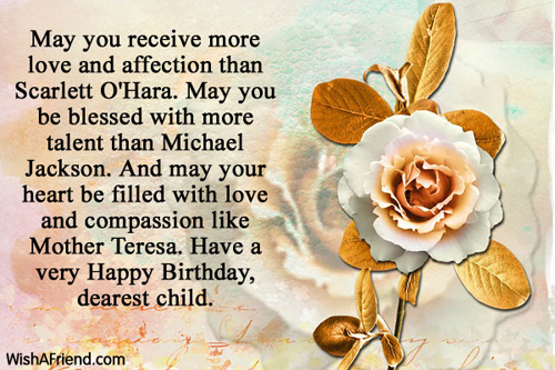best birthday message for mother ; 501-son-birthday-wishes