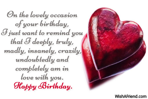 best birthday message for my girlfriend ; On-The-Lovely-Occasion-Of-Your-Birthday-Love-With-You-Happy-Birthday