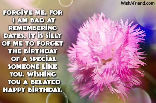 best birthday message for someone special ; 1064-belated-birthday-wishes