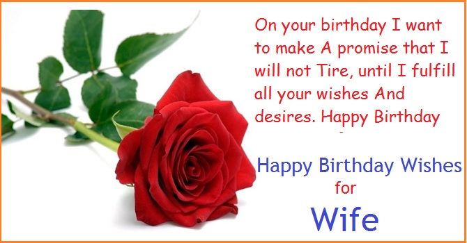 best happy birthday message for wife ; Red-rose-and-wishes-for-wife-on-her-birthday