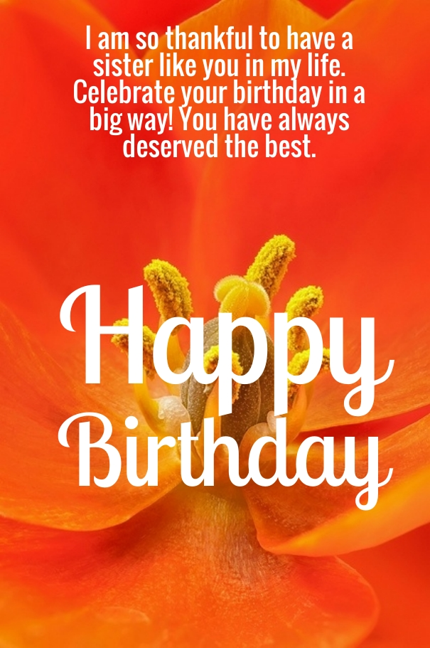 best way to wish happy birthday to sister ; 25-best-birthday-wishes-quotes-for-sister-5