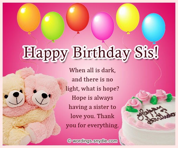 best way to wish happy birthday to sister ; birthday-wishes-for-sis