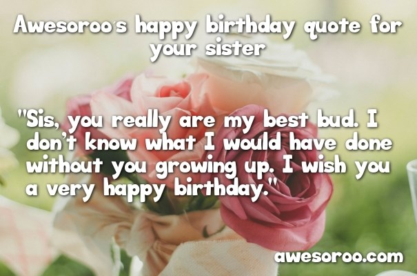 best way to wish happy birthday to sister ; bouquet-of-roses-for-sisters-birthday