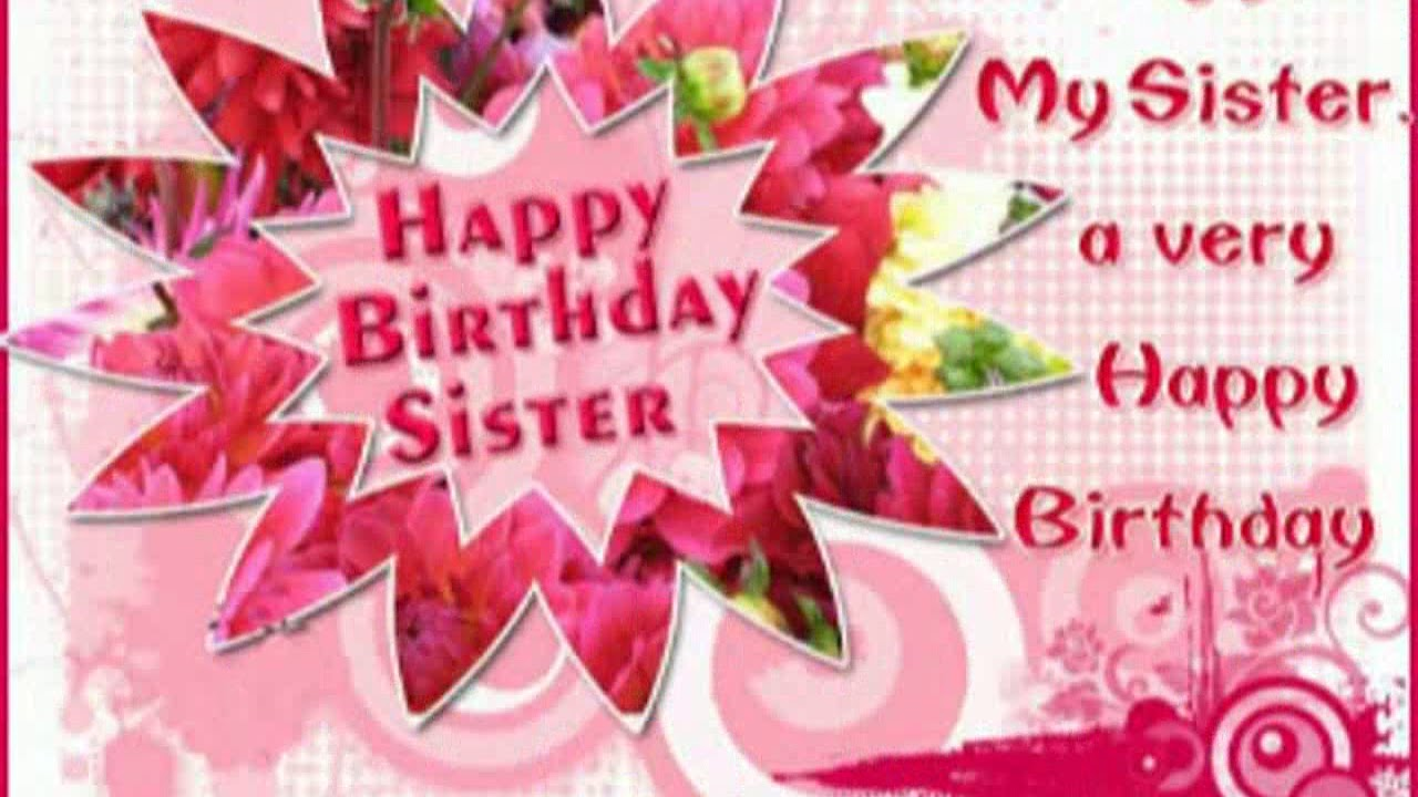 best way to wish happy birthday to sister ; maxresdefault