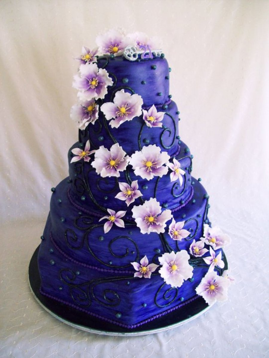 big birthday cake photo ; 900_830813YmF0_big-purple-birthday-cake