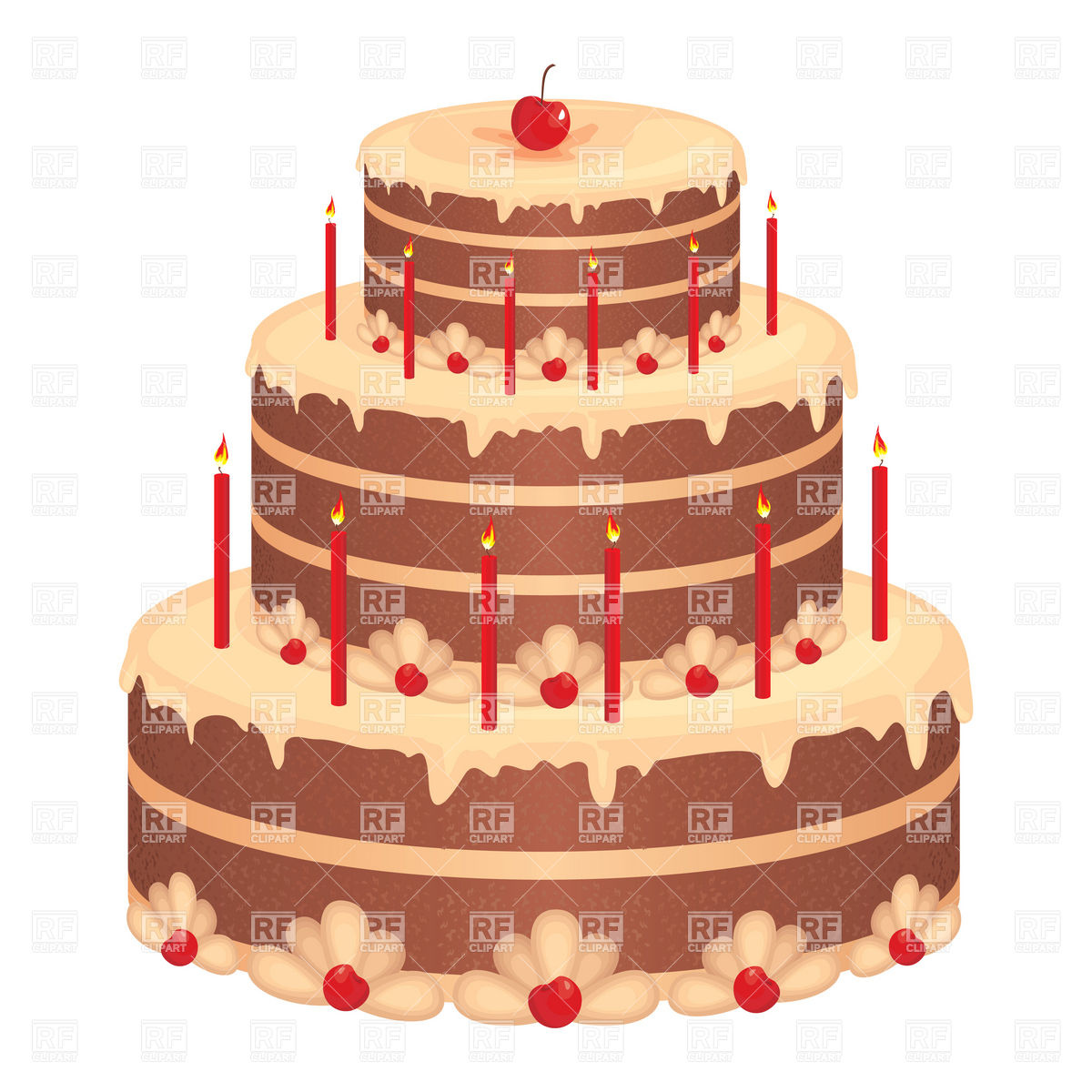 big birthday cake photo ; big-birthday-cake-Download-Royalty-free-Vector-File-EPS-40289