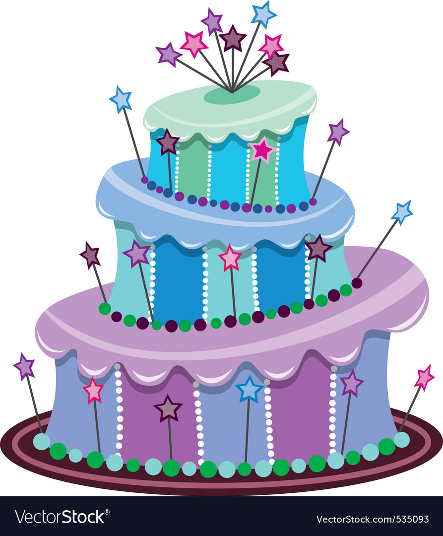 big birthday cake photo ; vector-big-birthday-cake-vector-535093
