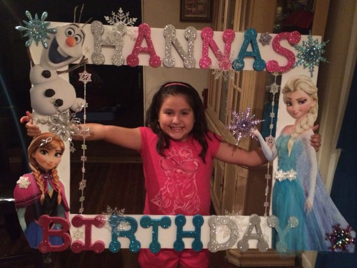 big picture frames for birthday parties ; 3ca191fbcf58e6e7c6e41c8decd02954--frozen-birthday-party-th-birthday