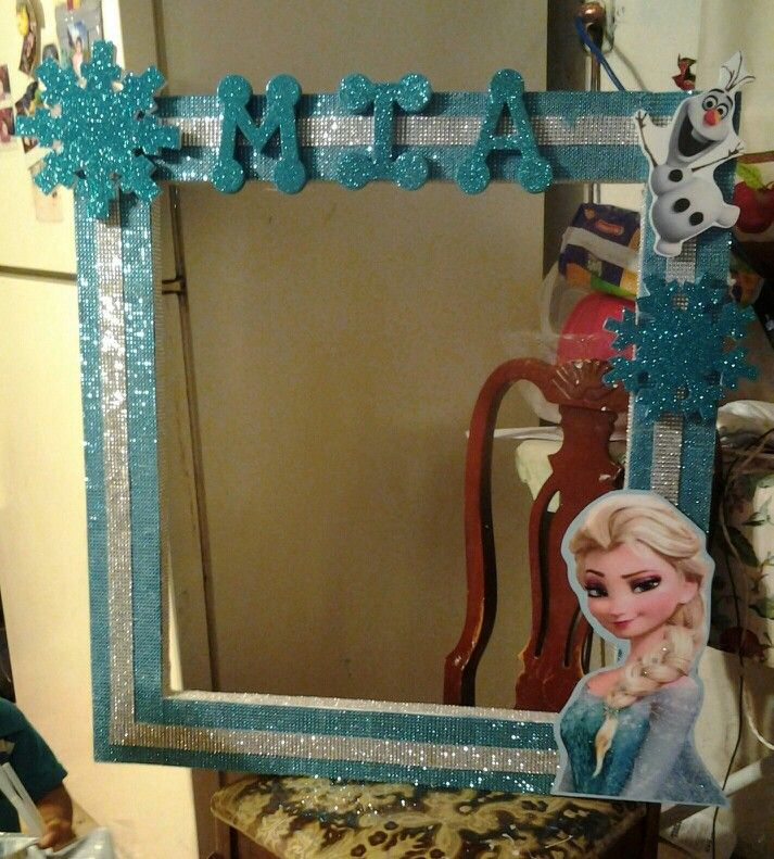 big picture frames for birthday parties ; 4e756f7dd46d7dbdc9edbff37b49a151--frozen-photo-booth-frozen-theme