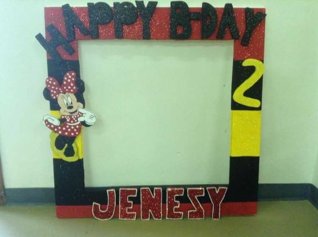 big picture frames for birthday parties ; big-frame-minnie-mickey-minnie-parties-pinterest-frames-with-regard-to-picture-frames-for-birthday-party-1024x764