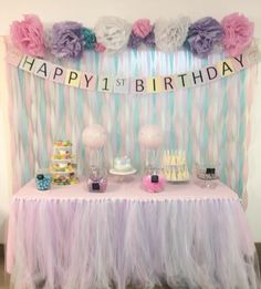 birthday backdrop images ; 9f49147e241f4c690e688ebd831535e7--streamer-decorations-diy-diy-dessert-table-backdrop