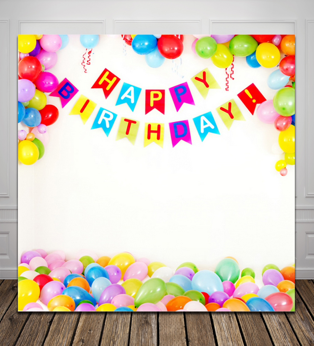 birthday backdrop images ; HUAYI-balloons-happy-birthday-Computer-Printed-Photography-Backdrop-D1703