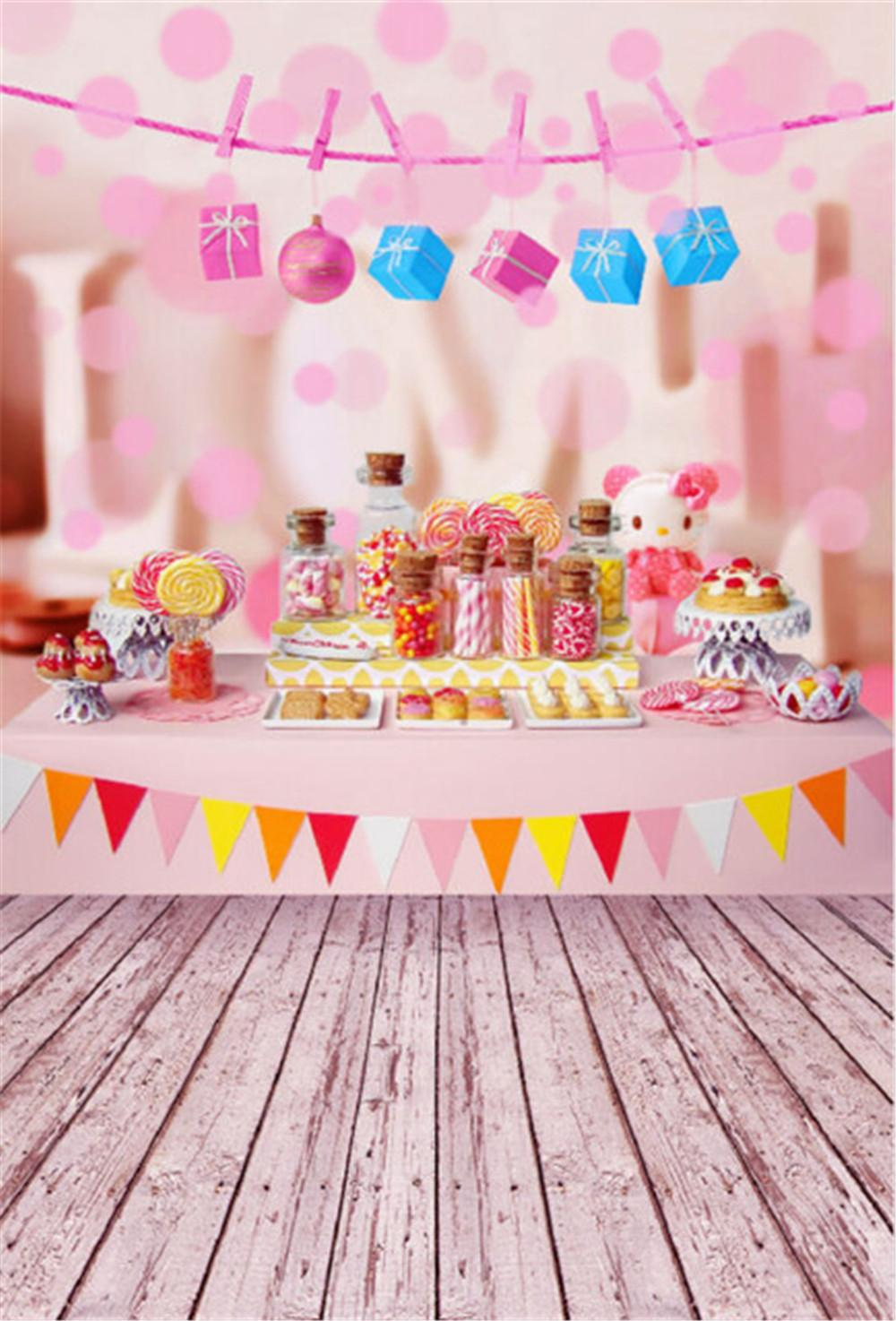 birthday backdrop images ; wood-floor-birthday-party-photographic-backdrop