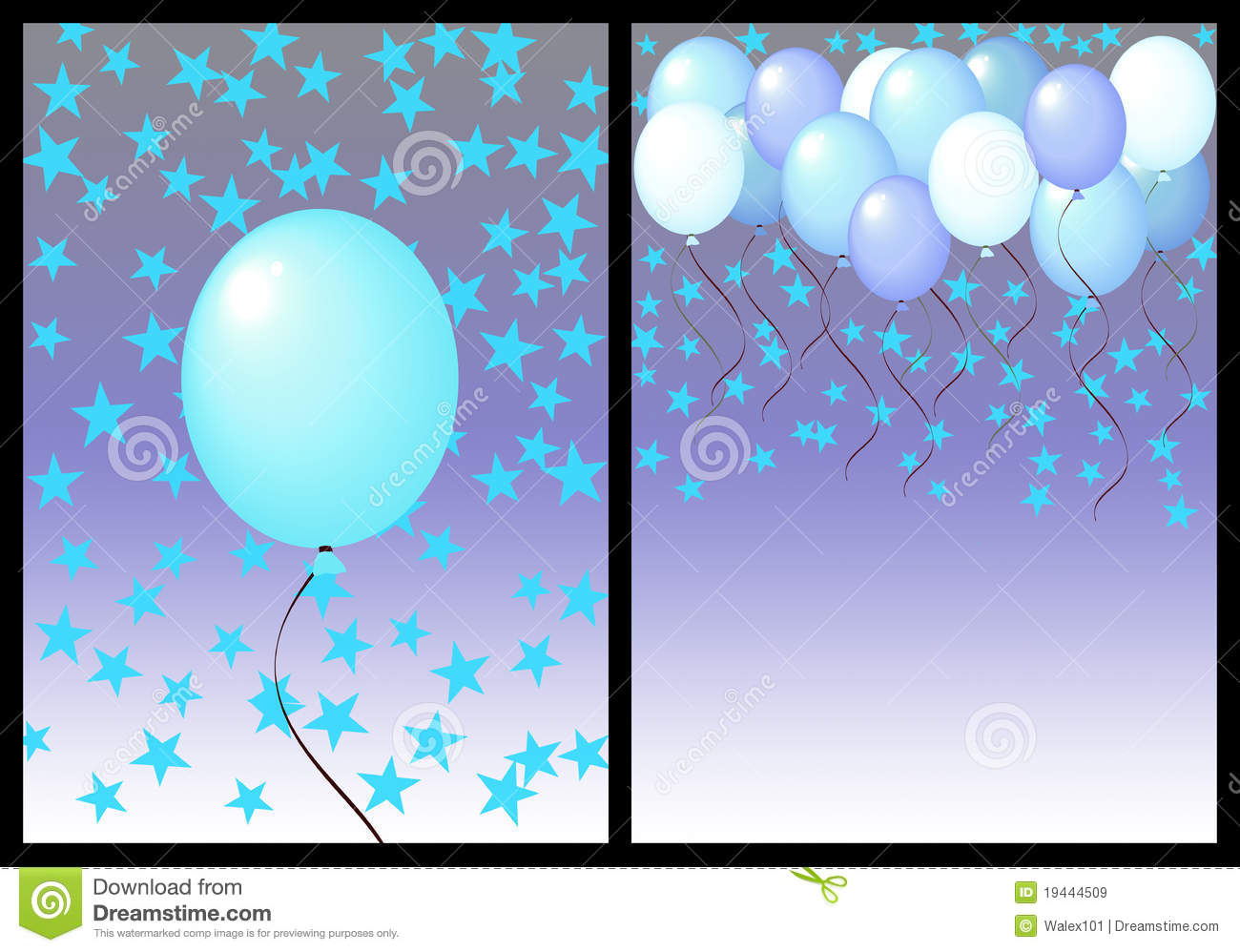 birthday background for male ; happy-birthday-greeting-card-front-back-male-19444509