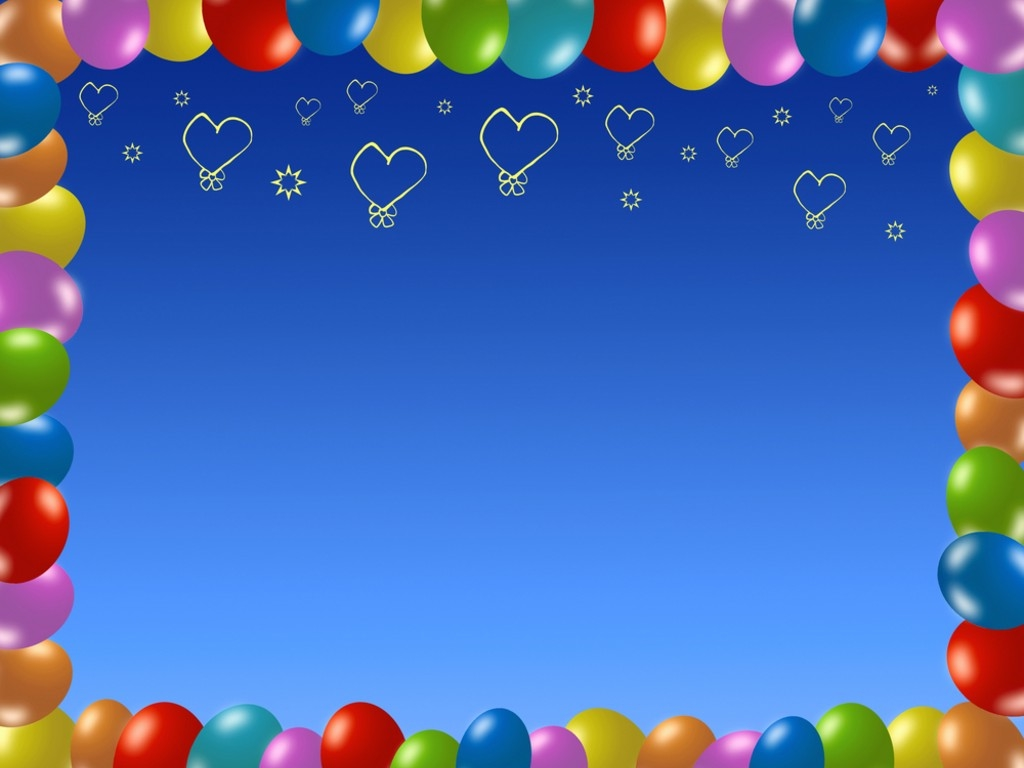 birthday background powerpoint ; colorful-birthday-frame-backgrounds-wallpapers