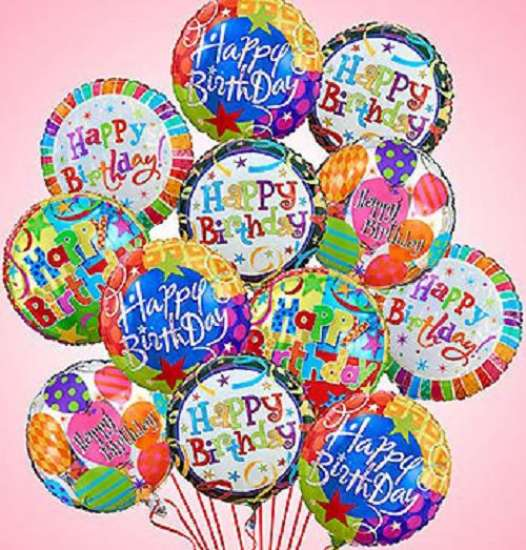 birthday balloons ; Birthday-Mylar-Balloon-Bouquet