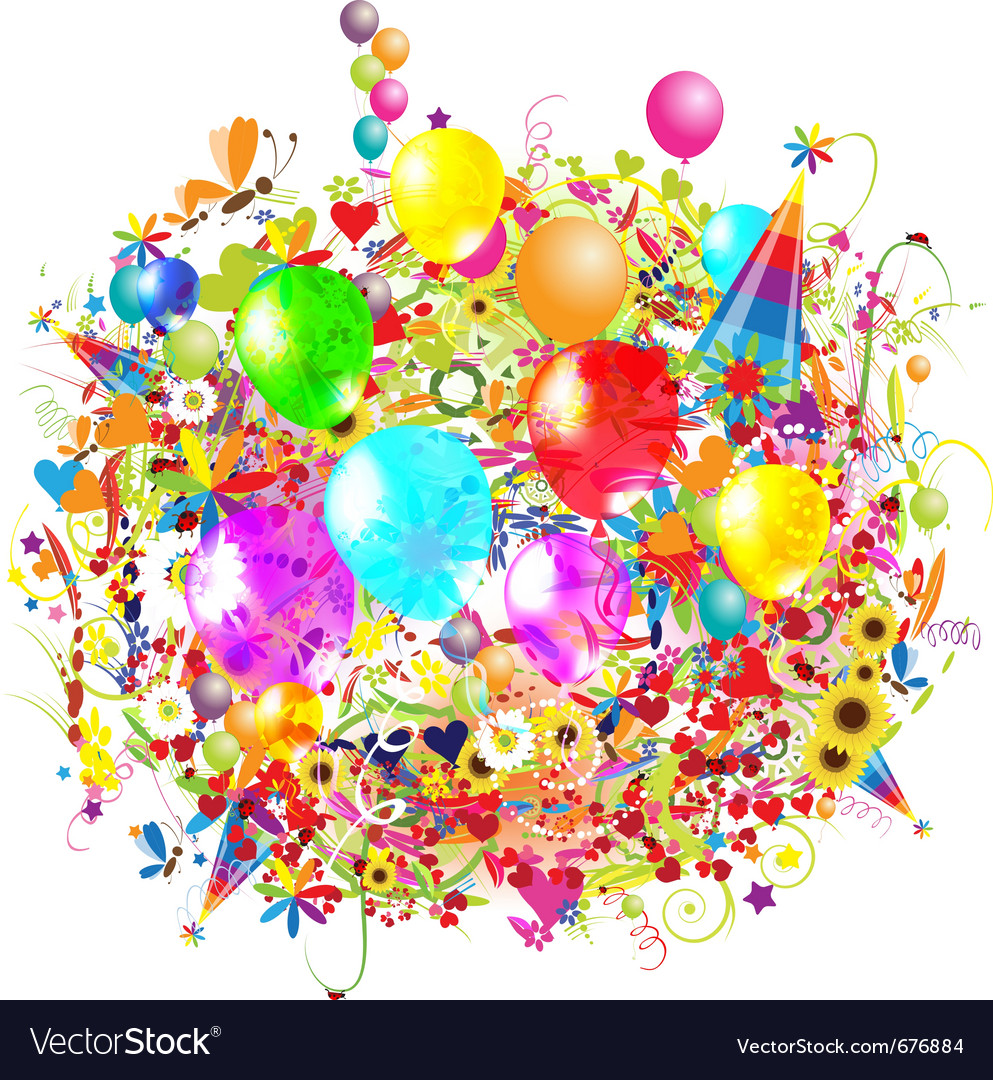 birthday balloons ; happy-birthday-balloons-vector-676884