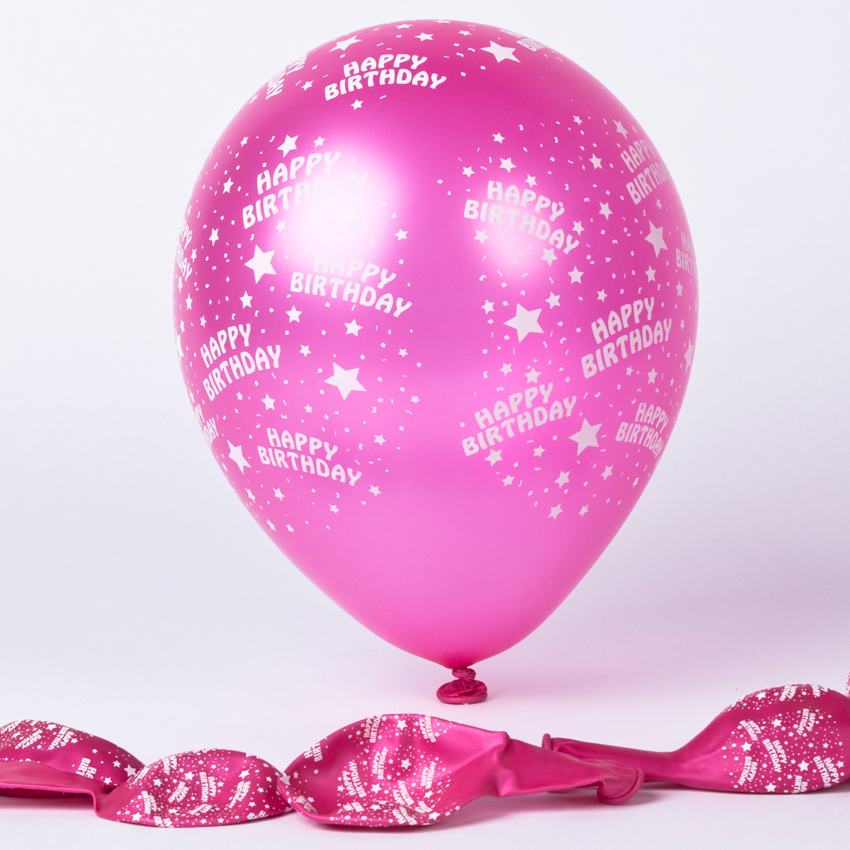 birthday balloons card factory ; metallic-pink-happy-birthday-latex-balloons-pack-of-6_a