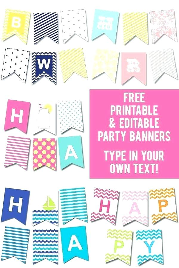 birthday banners software ; free-printable-happy-birthday-banner-templates-business-template-ideas-gorgeous-wall-art-party-envelope-bus