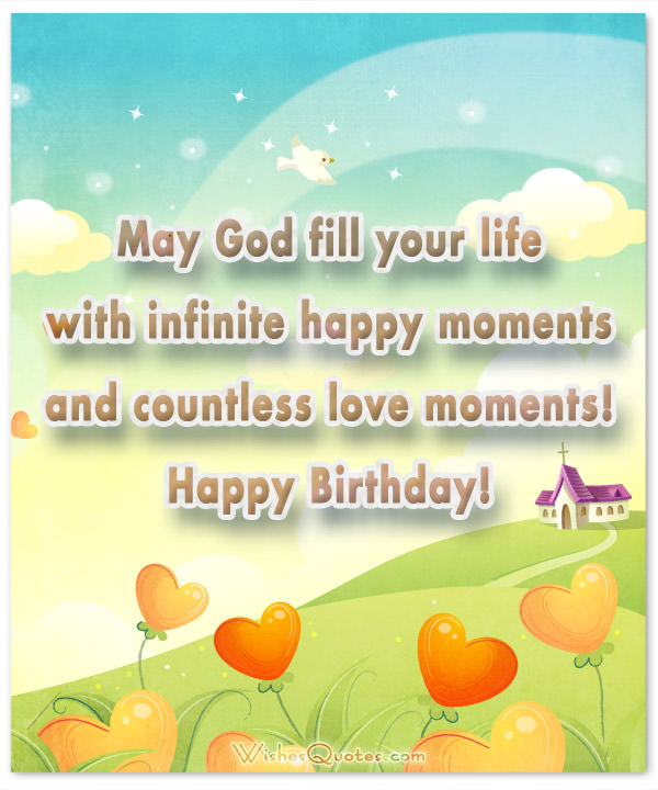 birthday blessing message ; May-God-fill-your-life