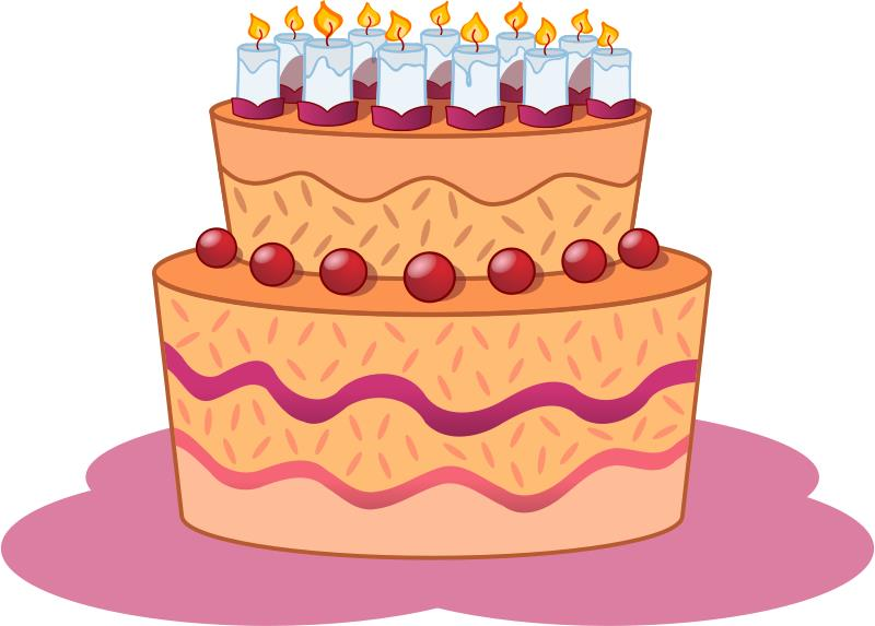 birthday cake clip art png ; Gateau_Birthday_Clipart_Pictures
