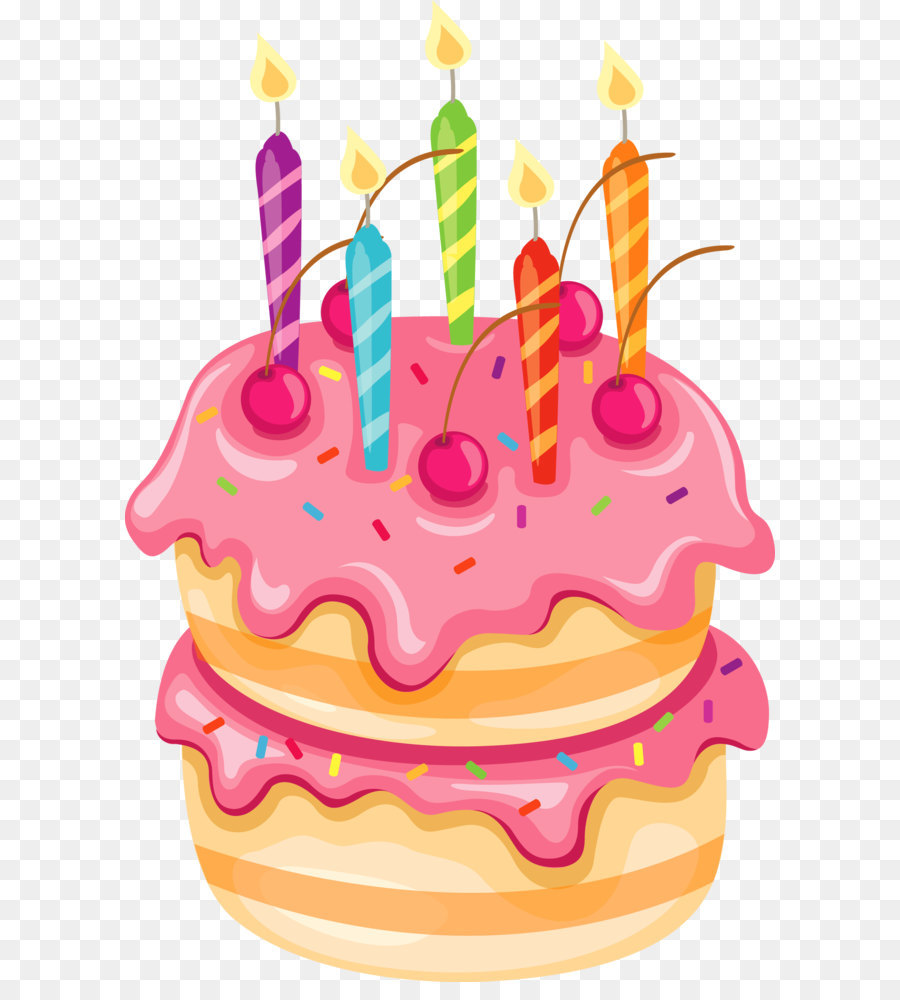 birthday cake clip art png ; pink-cake-with-candles-png-clipart-5a1cefdd3b79d9