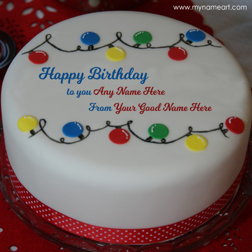 birthday cake create name image ; happy-birthday-decoration-cake-name-written