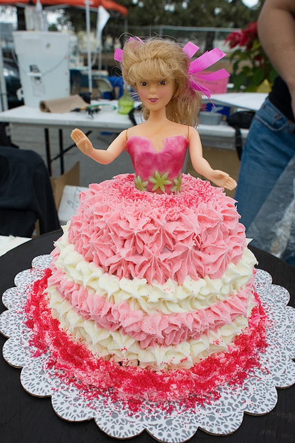 birthday cake ka photo ; barbie-ballerina-princess-theme-birthday-cakes-cupcakes-mumbai-71