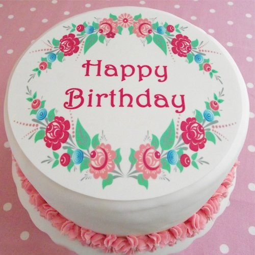 birthday cake ka photo ; happy-birthday-flower-cake-image