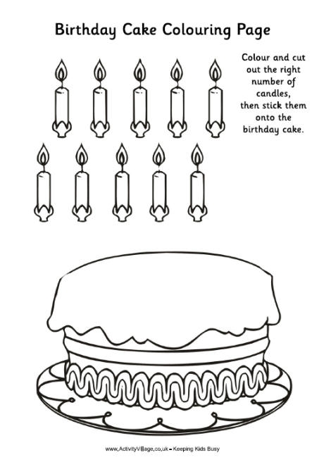 birthday cake print out ; birthday_cake_colouring_activity_460_0