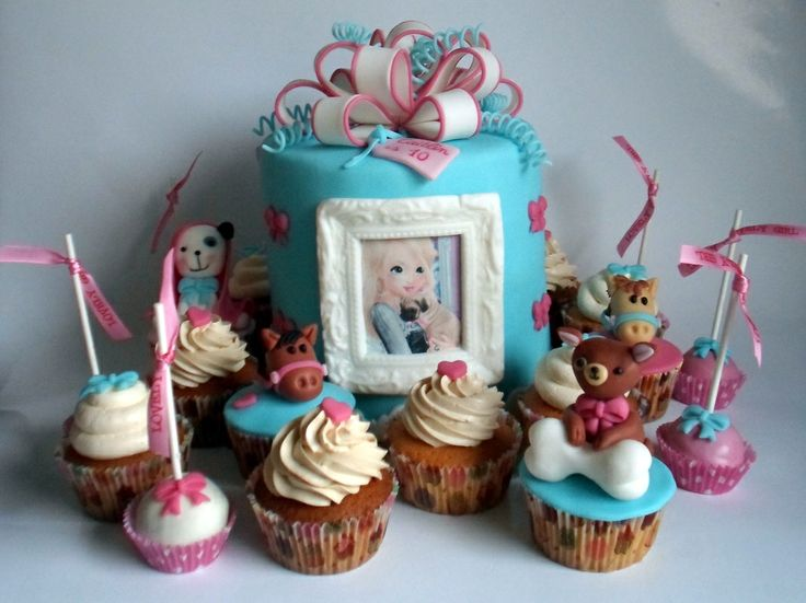 birthday cake with picture on top ; d1975e4eb6c83b5a194c46e0a719c764--horse-birthday-cakes-birthday-cake-cupcakes