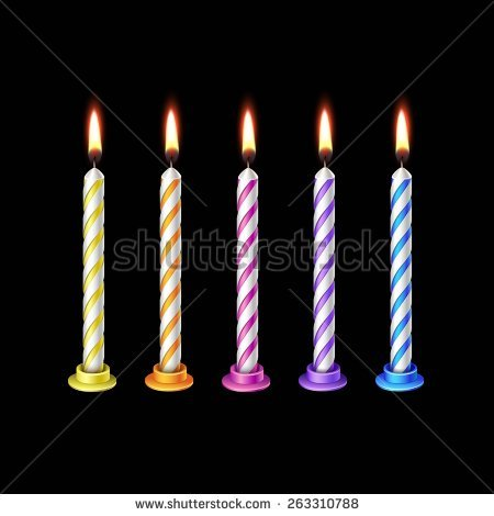 birthday candle transparent background ; birthday-candle-transparent-background-1
