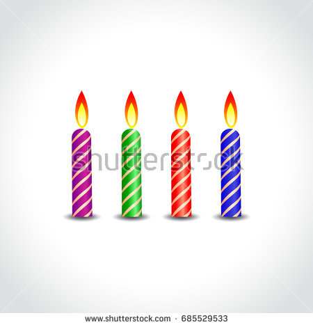 birthday candle transparent background ; birthday-candle-transparent-background-2