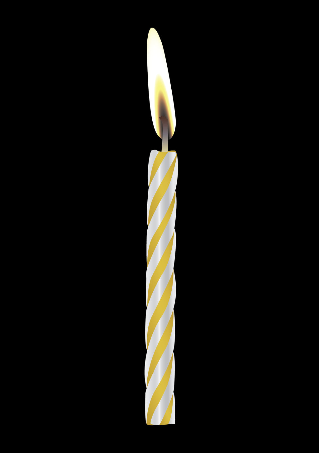birthday candle transparent background ; birthday-candles-png-2