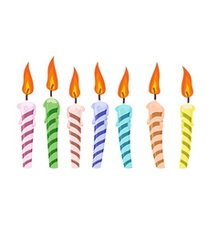 birthday candle transparent background ; set-birthday-candles-vector-4331711