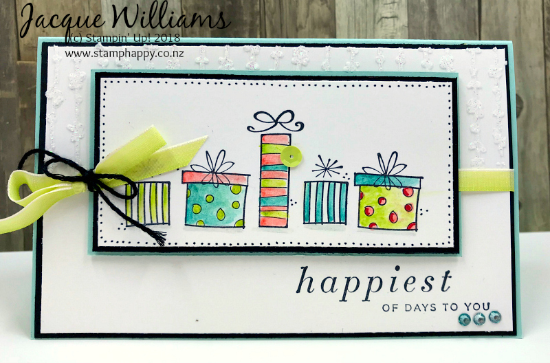 birthday card and gift voucher ; stampin-up-happiest-of-days-birthday-card-gift-certificate-voucher
