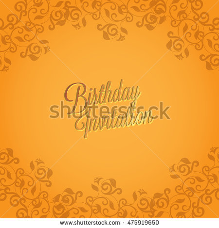 birthday card background design ; stock-vector-happy-birthday-card-and-background-design-475919650