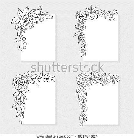 birthday card designs to draw ; birthday%2520card%2520design%2520drawing%2520;%2520designs-to-draw-on-greeting-cards-line-art-floral-stock-images-royalty-free-images-vectors