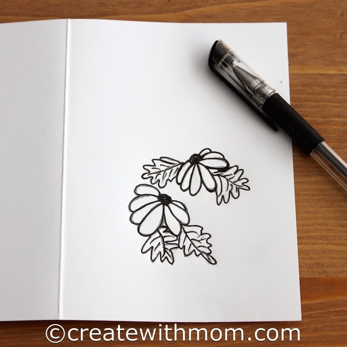 birthday card designs to draw ; card-drawing-56