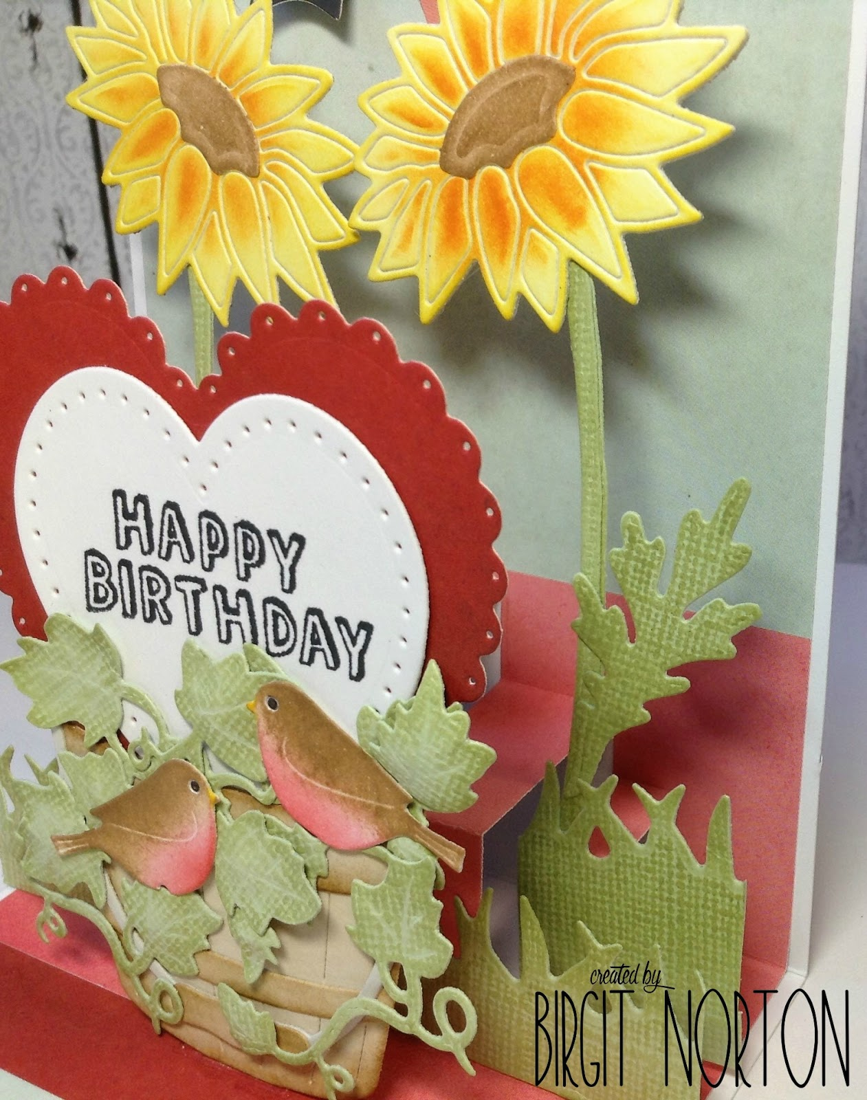 birthday card extra postage required ; PopUpBirthday6
