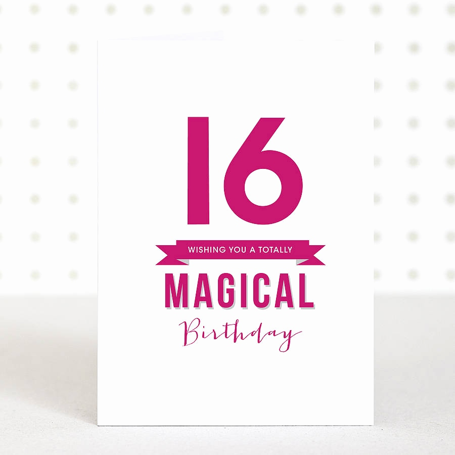 birthday card for 16 year old daughter ; birthday-cards-for-16-year-old-daughter-new-magical-16-birthday-card-by-doodlelove-of-birthday-cards-for-16-year-old-daughter