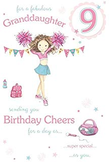 birthday card for 6 year old granddaughter ; 41TJfQ%252BvRcL