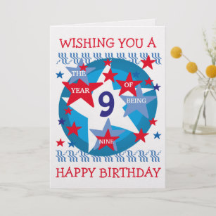 birthday card for 9 year old boy ; childrens_birthday_card_boy_9_years-r3ddf25cc8a854164a9cef30ebc0a3a8a_em0c6_307