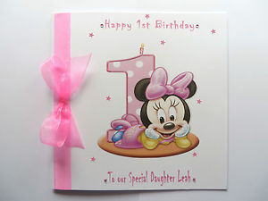 birthday card for baby girl ; s-l300-1