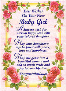 birthday card for baby girl ; s-l300