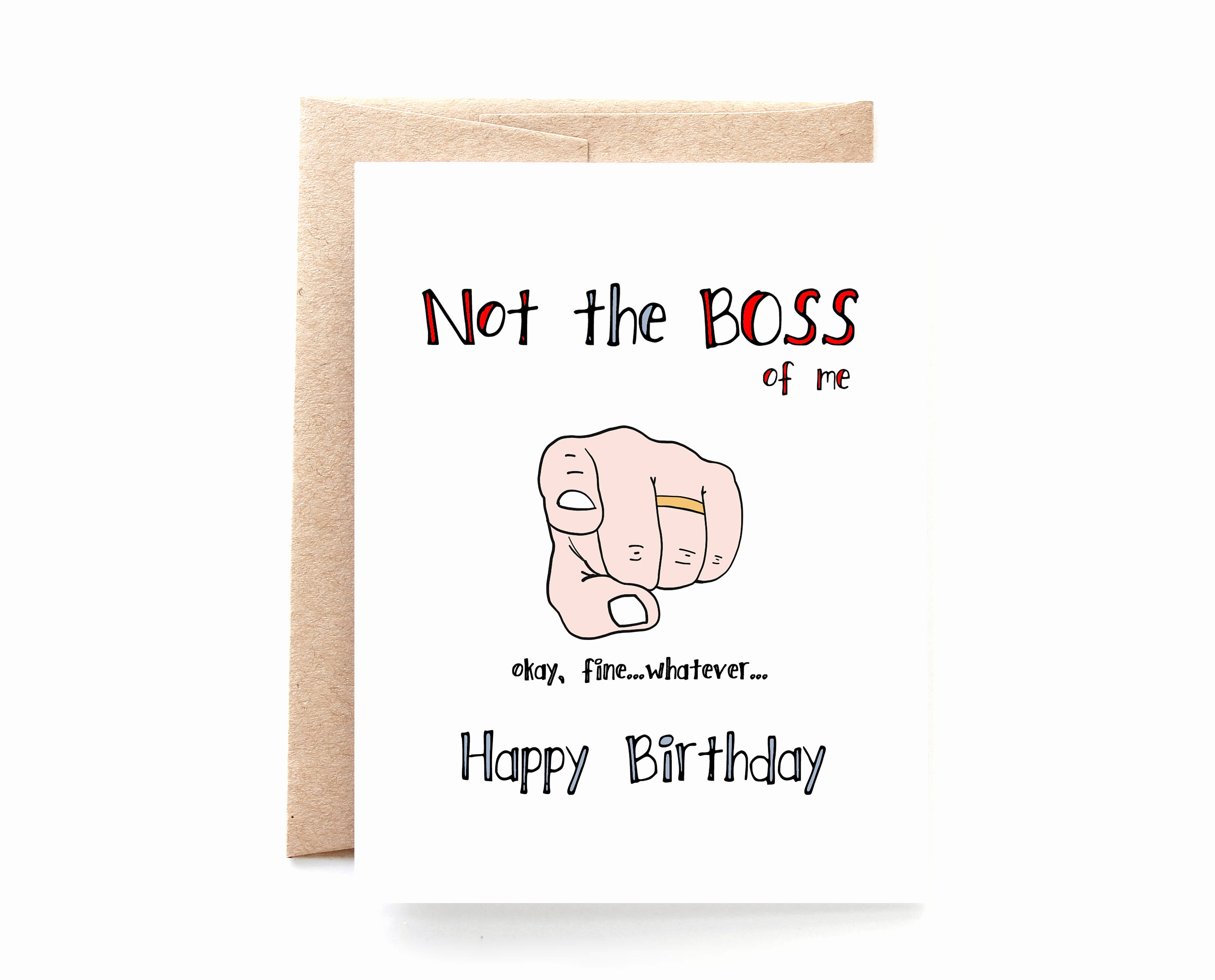 birthday card for boss funny ; birthday-card-for-boss-funny-luxury-birthday-card-wife-birthday-card-not-the-boss-me-of-birthday-card-for-boss-funny