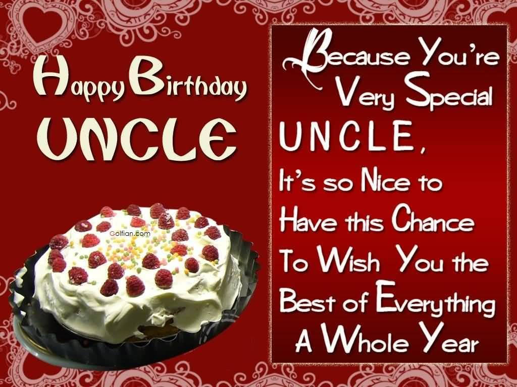 birthday card for chachu ; Delicious-Cake-Birthdaty-Wishes-For-Uncle-E-Card