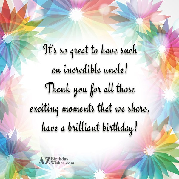 birthday card for chachu ; Fabulous-Uncle-Uncle-Birthday-Wishes-With-Greeting-E-Card-o7