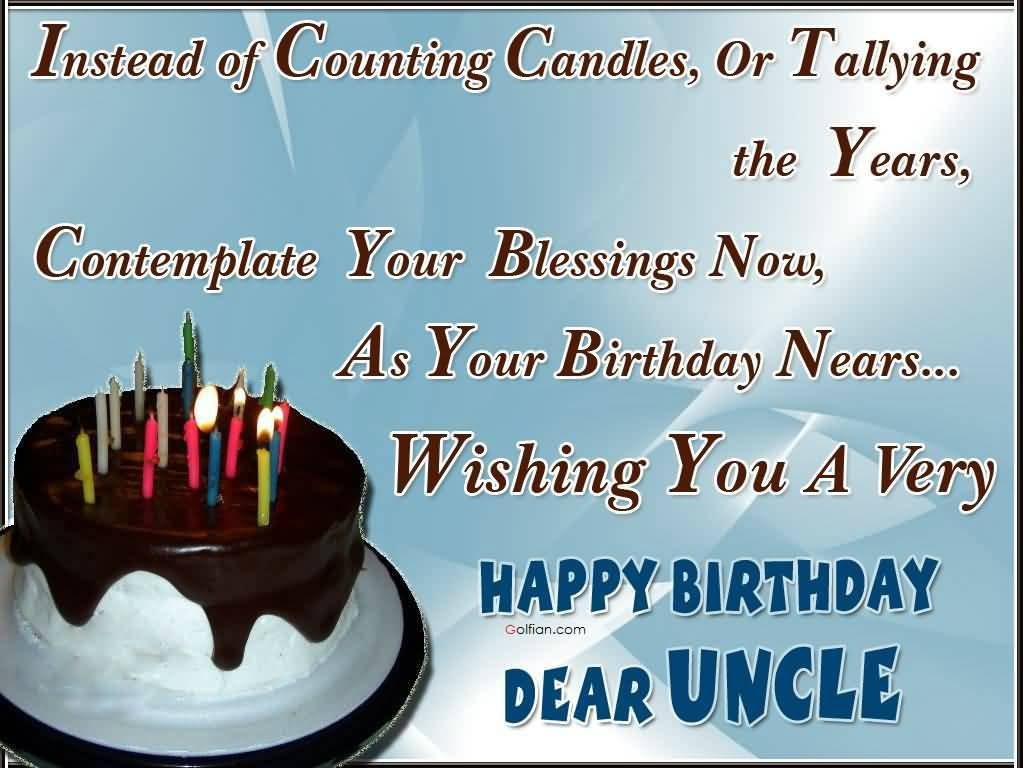 birthday card for chachu ; Traditional-E-Card-Birthday-Wishes-For-Uncle