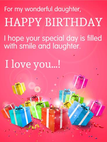 birthday card for daughter from dad ; 0599117a9132c5e9bb3f5b5d1ea47818